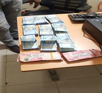 Policía Nacional recupera dos millones de pesos que fueron robados mediante asalto