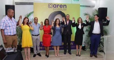 Precandidatos del PLD expresan respaldo Karen Ricardo para la Alcaldía de Santo Domingo Este.