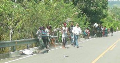 Yerno mata suegro de varios tiros en paraje de Sabana de la Mar