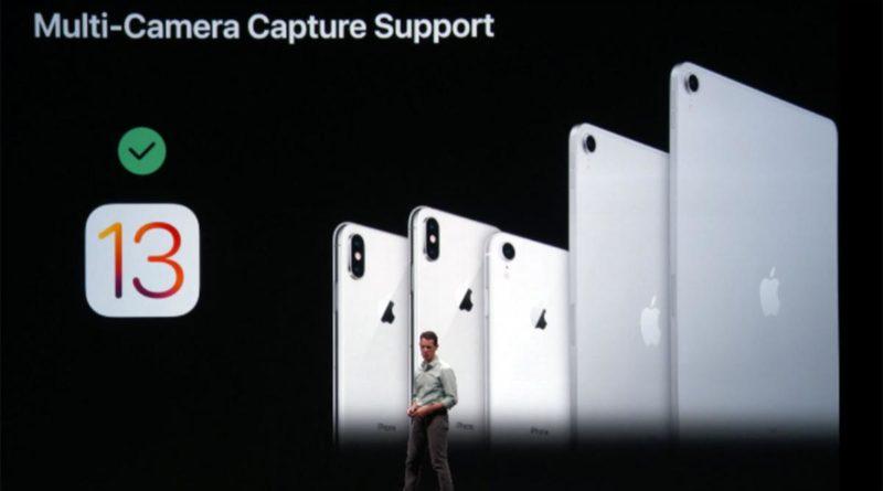 iOS 13 te permitirá tomar fotos y vídeos al mismo tiempo con la cámara trasera y delantera
