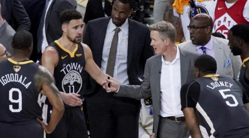 """Steve Kerr: """"La reacción de los Raptors en la segunda parte fue muy buena"""""""