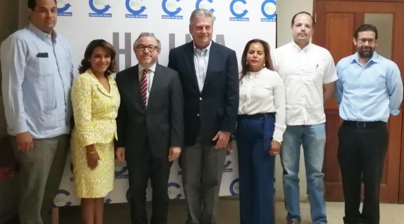 Industriales de Haina y BANDEX conversan sobre apoyo financiero a las exportaciones