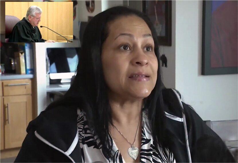 Juez prohíbe a la madre de Junior volver a sala de juicio por descontrol emocional