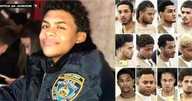 Los otros ocho pandilleros acusados por el asesinato de Junior serán enjuiciados en septiembre