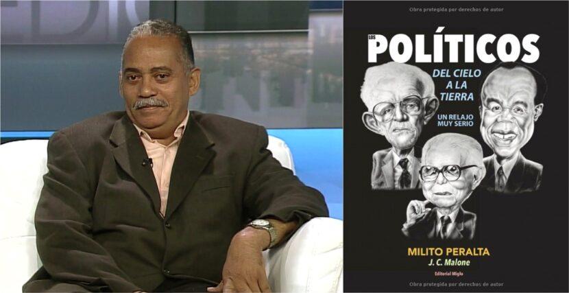 Milito Peralta dice en NY que sus caricaturas expresan desahogo por abusos de políticos