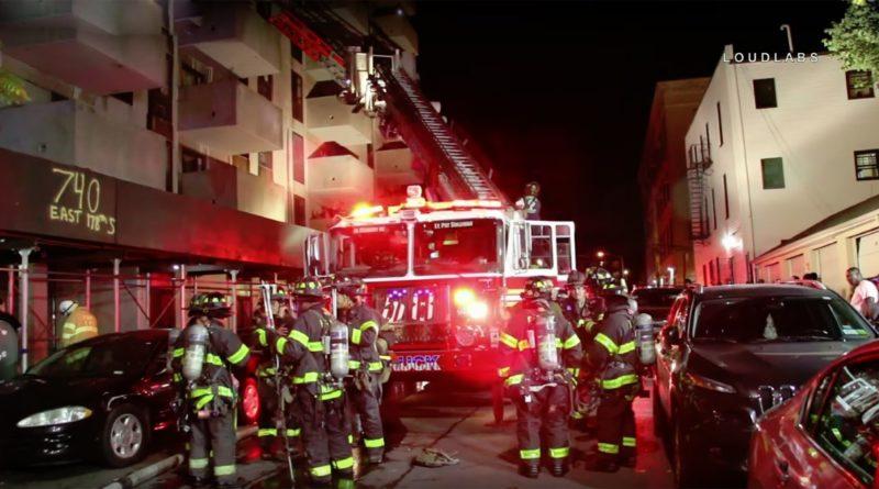 Niña dominicana y adolescente graves con quemaduras en segundo y tercer grados durante voraz incendio en El Bronx