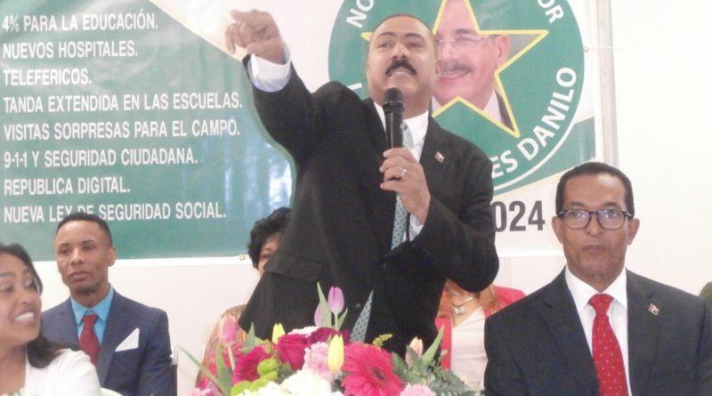 Polanco pide a seguidores calma y no desviarse del apoyo y promoción de la gestión de Danilo
