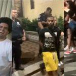 Sargento dominicano dirige paliza de policías contra pariente del cantante Félix D´ Oleo después de llamarle lambón
