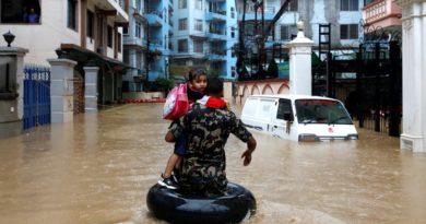 Las inundaciones en Nepal e India dejan 59 muertos y 2,6 millones de afectados