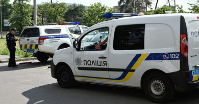 Ucrania: Atacan con un lanzagranadas el edificio de un canal en Kiev