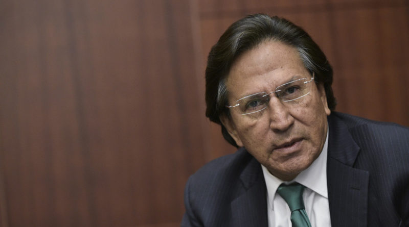 ATENCIÓN :El expresidente peruano Alejandro Toledo es detenido en EE.UU. para su extradición