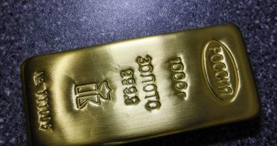Las reservas de oro de Rusia superan los 100.000 millones de dólares