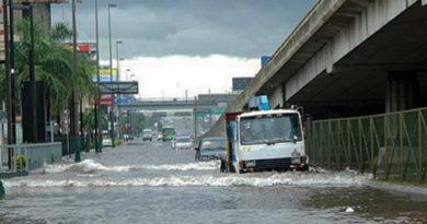 Alerta en 12 provincias y el DN por lluvias