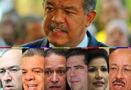 ATENCIÓN: Leonel ganaría primarias con un 50.5% a todos los demás aspirantes del PLD