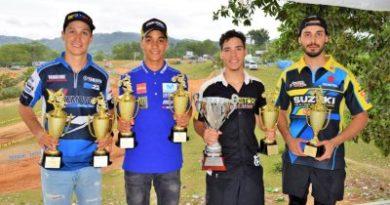 Dominicanos ganan copa domínico-venezolana de motocross Lantigua y Trasolina triunfan en las categorías grandes