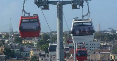 Fallas técnicas en Teleférico de Santo Domingo