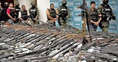 Gobierno de AMLO pide a EUA operativos contra tráfico de armas en frontera