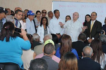Hipólito Mejía reitera encabezará la victoria del PRM en el 2020