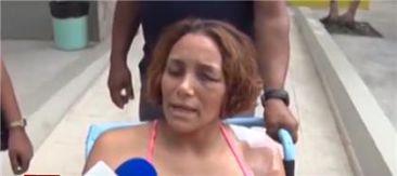 Mujer fue agredida a puñaladas por un vecino en SFM exige justicia