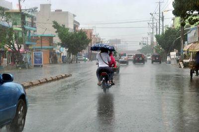 Pronostican aguaceros y aisladas tronadas esta tarde sobre algunas localidades