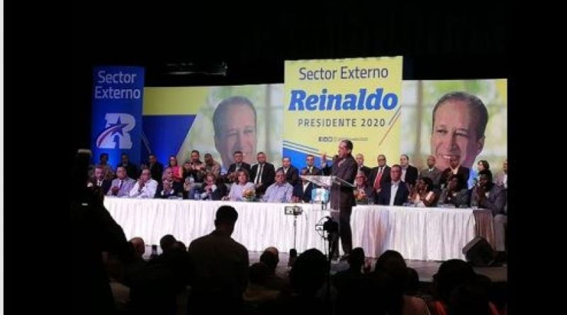 Reinaldo afirma que no defraudará al PLD ni a los dominicanos desde la presidencia