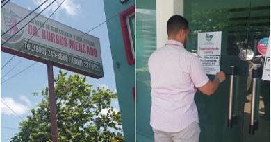 Salud Pública cierra clínica por incumplimiento de normas