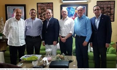 Tres nuevos danilistas optarían por la candidatura presidencial