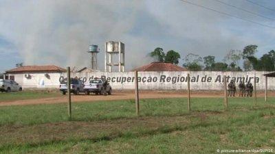 Una nueva pelea entre bandas carcelarias deja al menos 52 muertos en Brasil