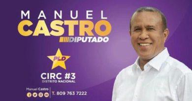 Exjefe de la Policía Manuel Castro inscribió precandidatura a diputado por el PLD
