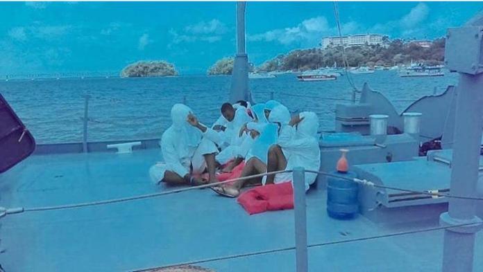 Armada de RD frustra viaje ilegal y apresa a ocho personas