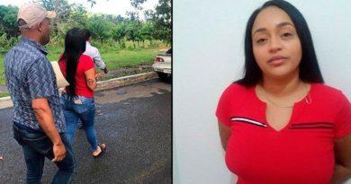 PN apresa en Samaná a mujer vinculada a muerte de pareja en Arenoso
