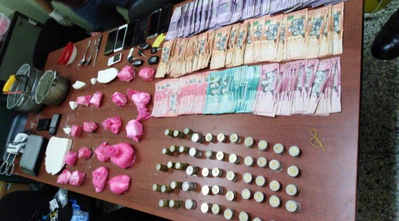 Autoridades desmantelan un centro de preparación de crack en Santiago