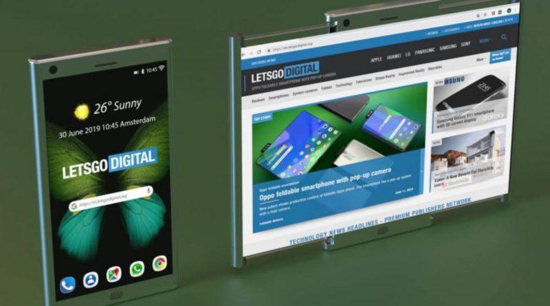 Samsung patenta un móvil con pantalla enrollable, como un papiro