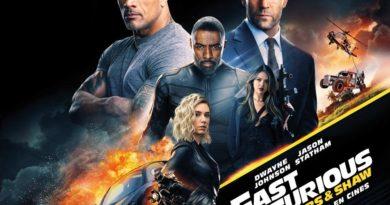 """La película esperada """"Fast & Furious: Hobbs & Shaw"""""""