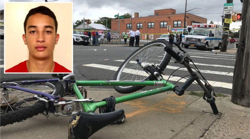 Adolescente dominicano en bicicleta muere arrollado por grúa en Staten Island