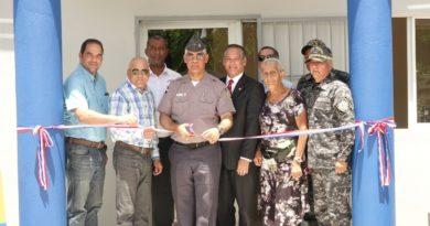 """Residentes de la comunidad de """"El Dean"""" cuentan con nuevo destacamento para elevar niveles de seguridad"""