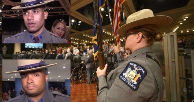 Dominicanos se gradúan como oficiales en la elitista Policía Estatal de Nueva York