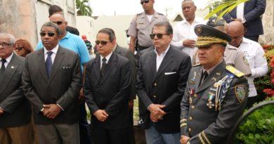 Despiden restos mortales del Mayor Genera (R) Luis Alberto Núñez Guzmán ex jefe de la Policía Nacional en el periodo del 1994-1995