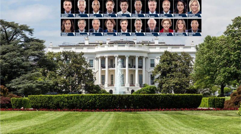 Los aspirantes demócratas a la Casa Blanca en elecciones de 2020 suman 24 y se esperan más