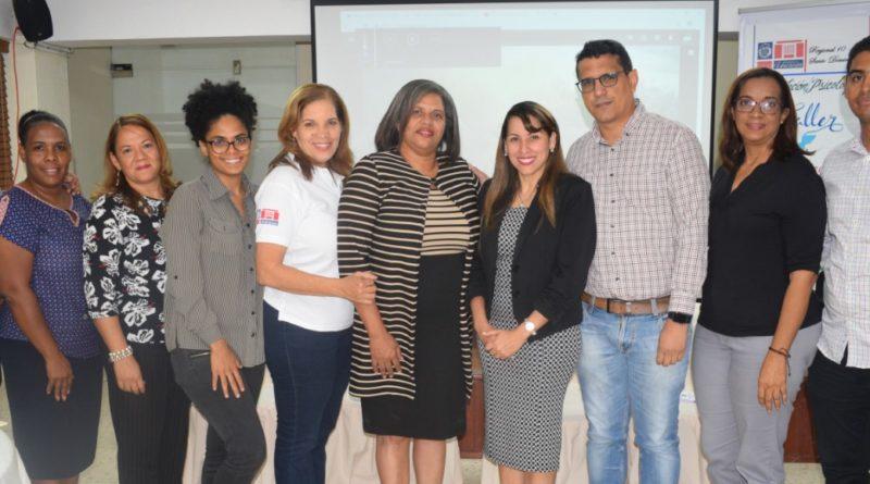 El Departamento de Psicología del MINER y la Regional 10 de Educación, Realiza Taller de Prevención de Embarazo en Adolescencia en los Centros Educativos.
