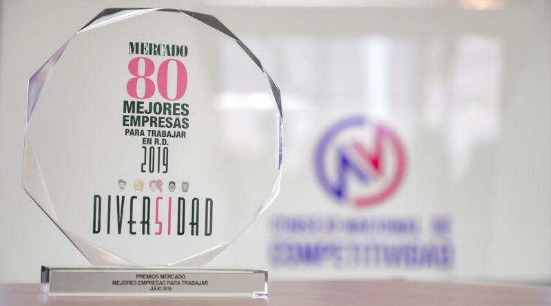 COMPETITIVIDAD elegida entre las 80 Mejores Empresas para Trabajar en RD