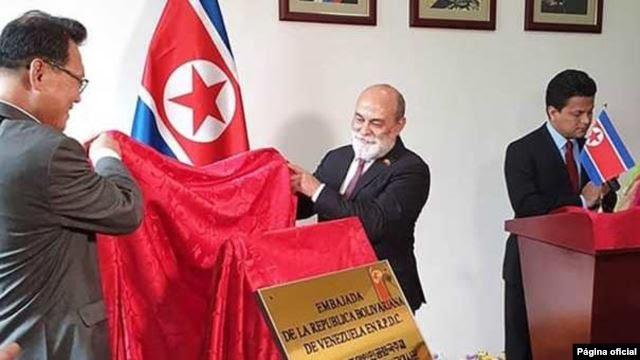 Venezuela abre embajada en Corea del Norte tratando de reafirmar la alianza frente a EE.UU.