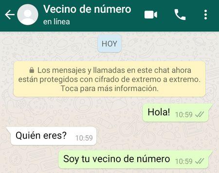 """ALERTA MUNDIAL:""""Soy tu vecino de número"""": en qué consiste el viral de WhatsApp y por qué podría poner en riesgo tu privacidad"""