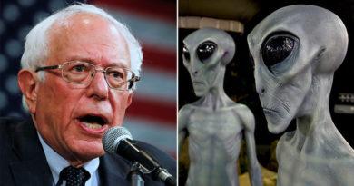 Bernie Sanders promete hacer públicas las evidencias sobre extraterrestres en caso de ganar la Presidencia y la Red estalla en bromas
