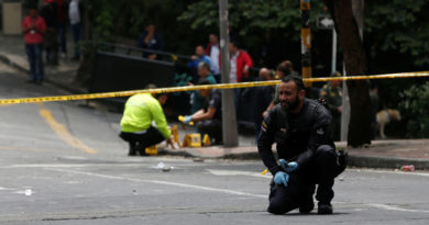 Un cantante colombiano mata al atracador que asesinó a su esposa en un asalto callejero