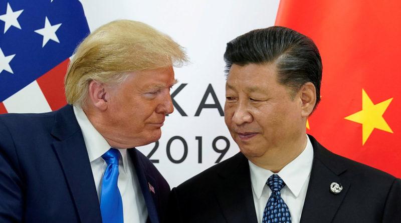 Trump dice que la guerra comercial con China será corta