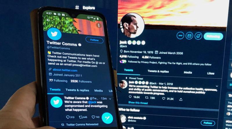 Hackearon la cuenta de Twitter del CEO Jack Dorsey y publicaron ofensas raciales y amenazas de bomba