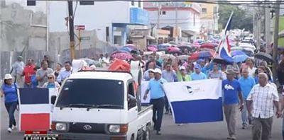 ADP en SFM marcha exigiendo diversas demandas; Educación le responde
