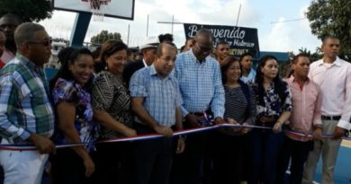 ASDE entrega remozado Centro de Integración Familiar en el sector Los Mameyes
