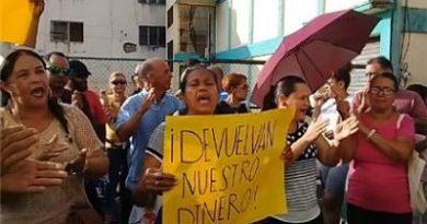 Acreedores de la Munné SRL protestan exigiendo devolución de su dinero en SFM